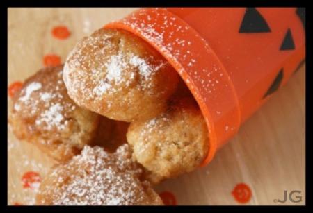pumpkin pie beignets